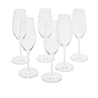 Set 6 calici flutes Cru
