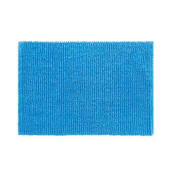 Woven nut-effect cotton bath mat