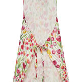 100% cotton apron with tulips print