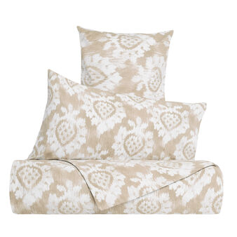 Duvet cover set in ikat style 100% cotton