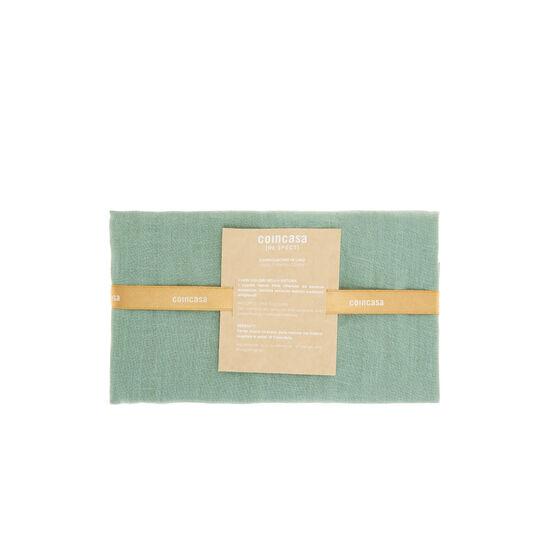 Copricuscino puro lino colori naturali  45x45cm