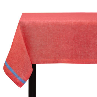 Tablecloth in yarn-dyed linen blend