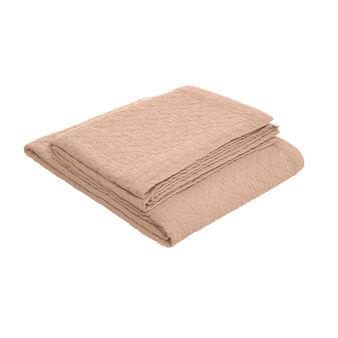 Copriletto puro cotone lavato