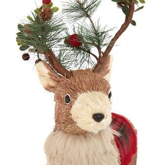 Decorative deer soft toy