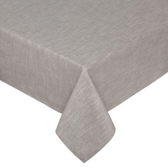 Iridescent cotton mélange table cloth
