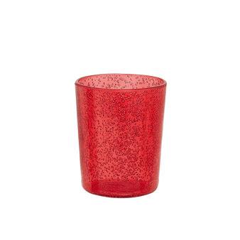 Bicchiere plastica bolle