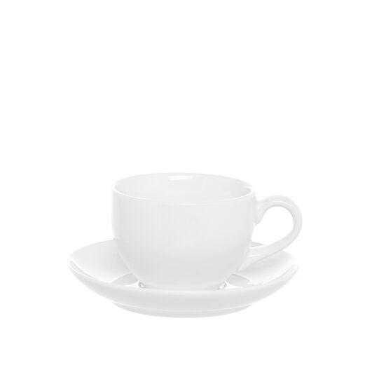 Tazza da tea porcellana bianca