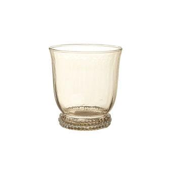 Bicchiere vetro colore in pasta