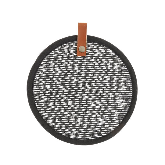 100% cotton pot holder with dots print
