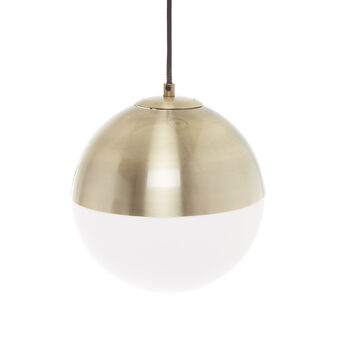 Otto suspension lamp with shade