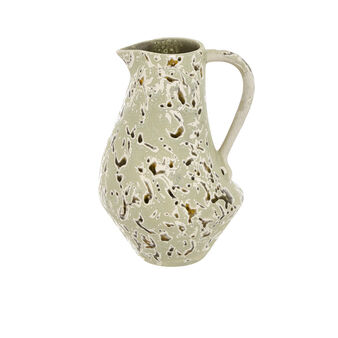 Decorative Portuguese artisan ceramic jug