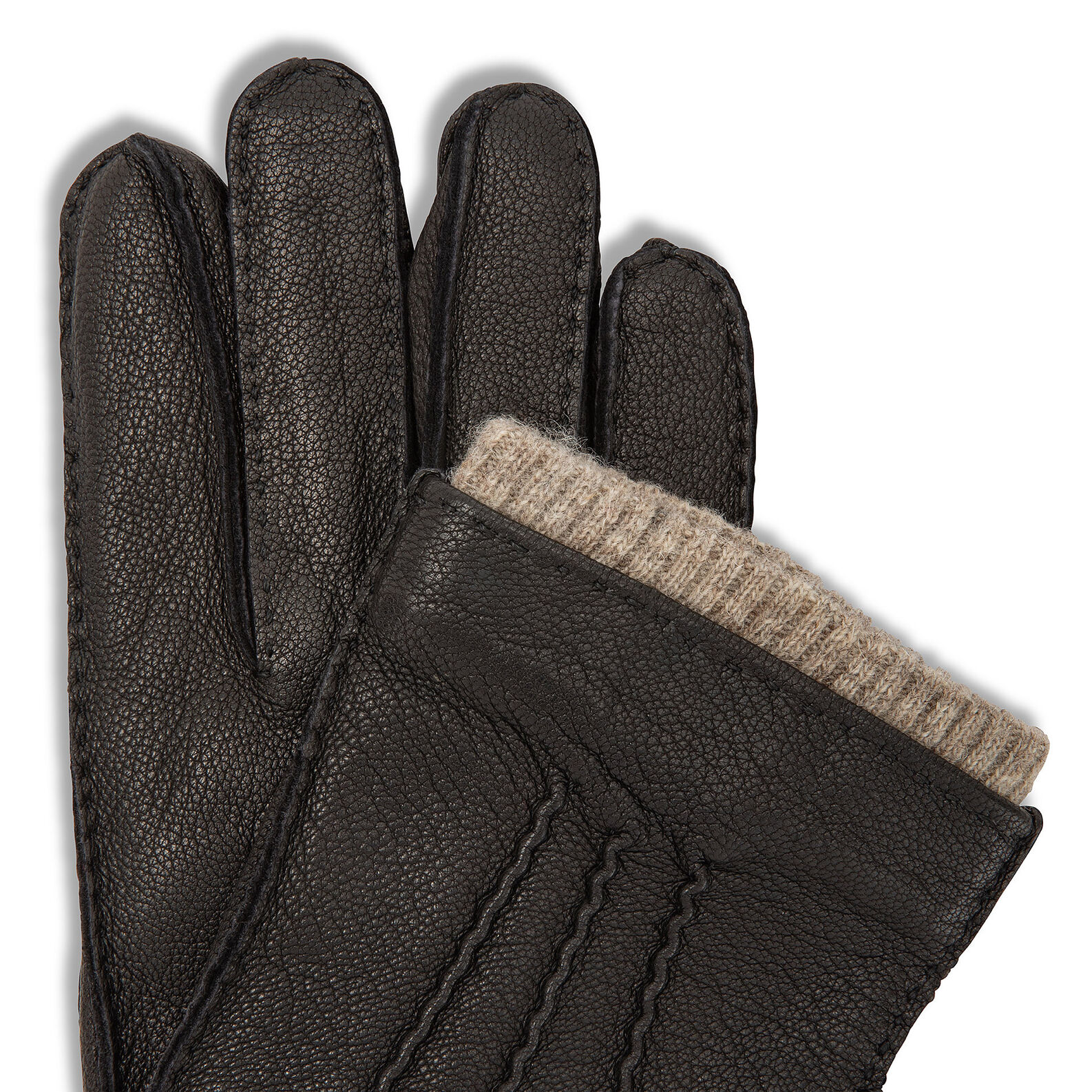 Luca D'Altieri genuine leather gloves