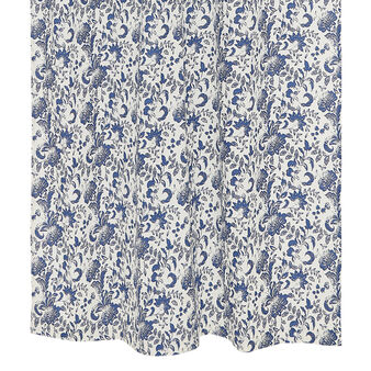 100% cotton curtain with floral print