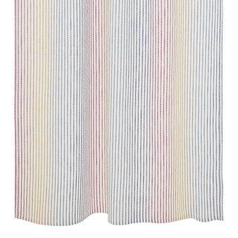 Tenda misto lino micro righe