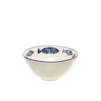 Coppetta ceramica pesci