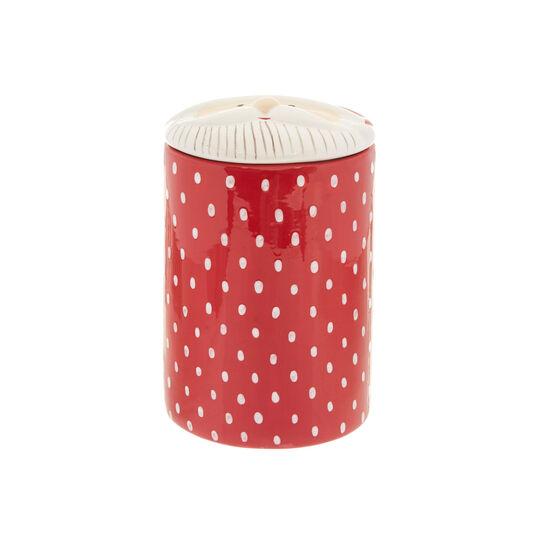 Ceramic jar with Father Christmas
