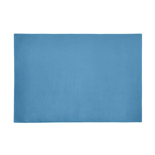 Solid colour microfibre bath towel