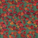 100% cotton Panama tablecloth with chilli pepper print