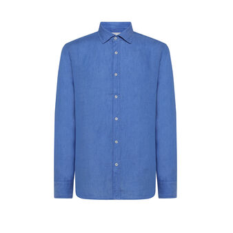 Camicia puro lino tailor fit Luca D'Altieri