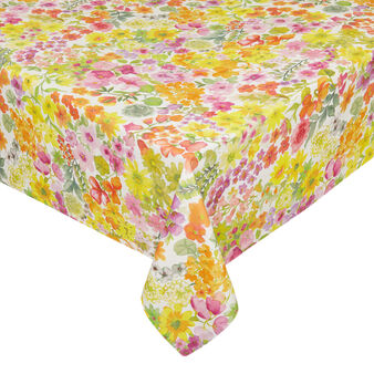 100% cotton tablecloth with small flowers print