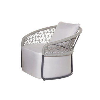 Seychelles  chair in rope and aluminium