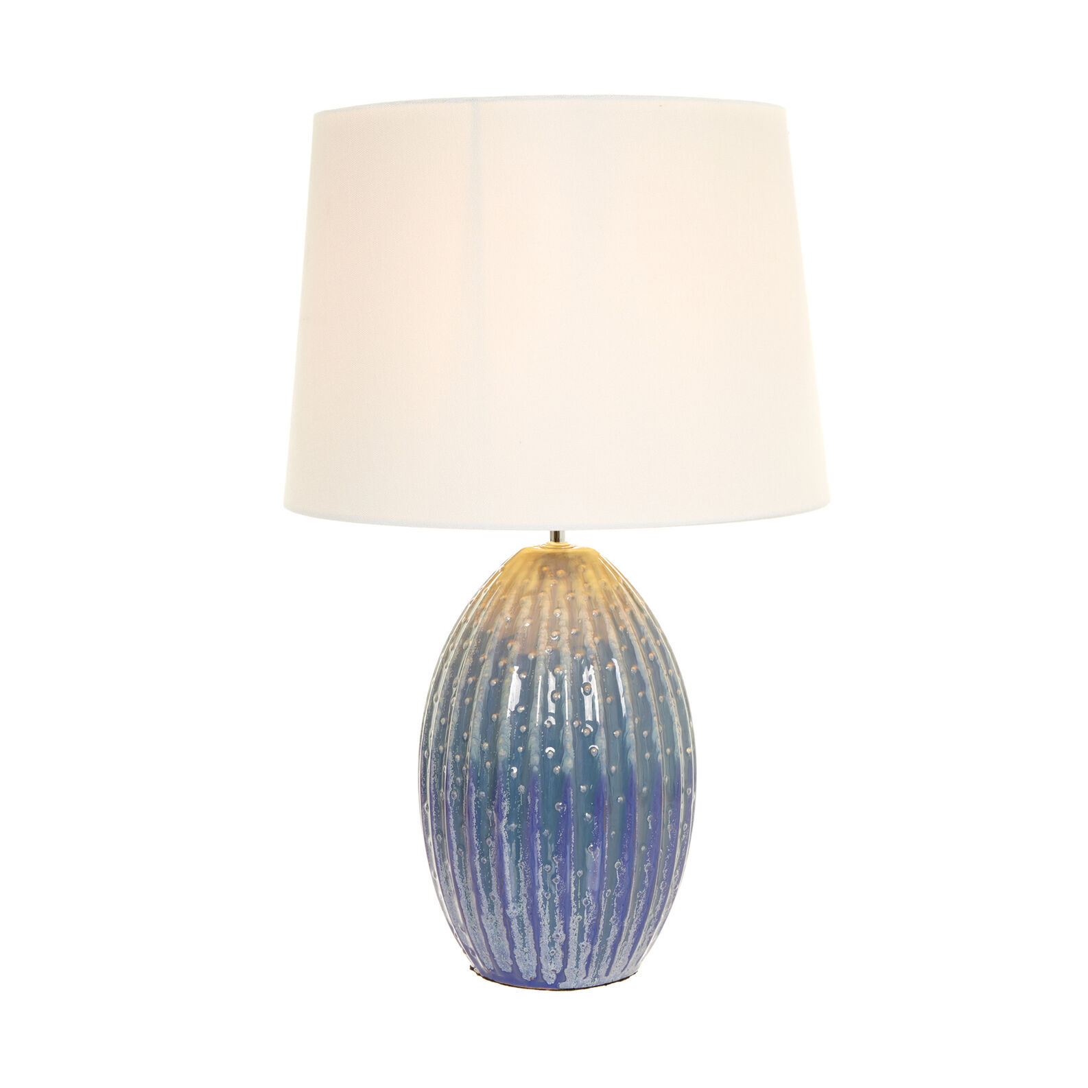 Lampada da tavolo Riccio Blu