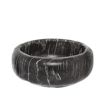 Handmade decorative teak bowl