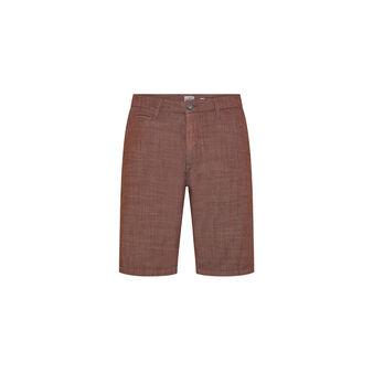 Luca D'Altieri Bermuda shorts in lightweight cotton
