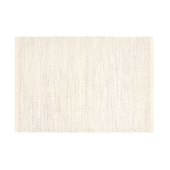 Cotton and lurex table mat