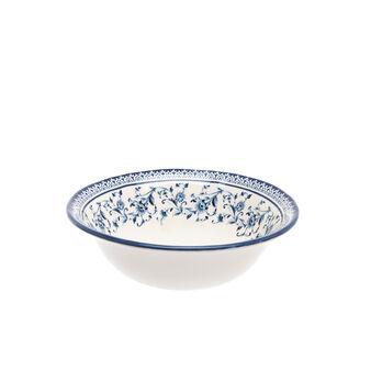 Small decorated ceramic bowl