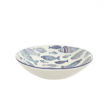 Insalatiera ceramica pesci