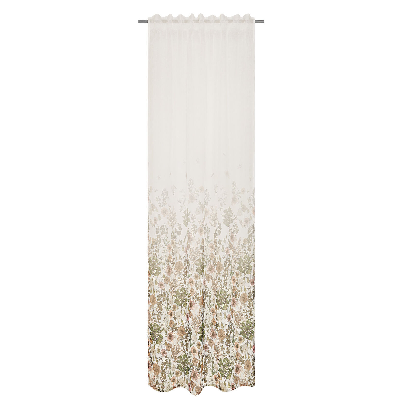 Tenda stampa floreale degradè