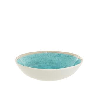 Solid colour melamine soup plate