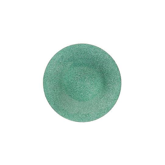 Side plate in glitter glass