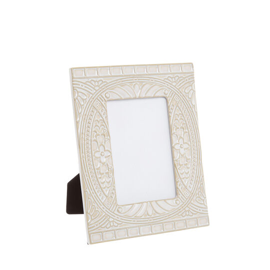 Ceramic photo frame with engraving