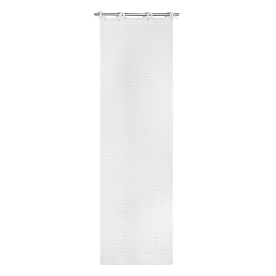 Small 100% cotton broderie anglaise curtain with laces