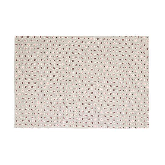 Tovaglietta puro cotone stampa fiorellini