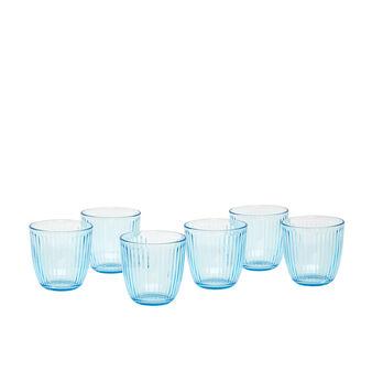 Set of 6 Line glasses