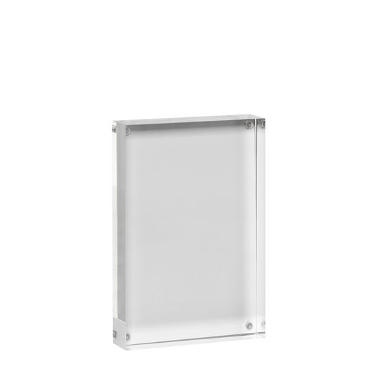 Transparent photo frame