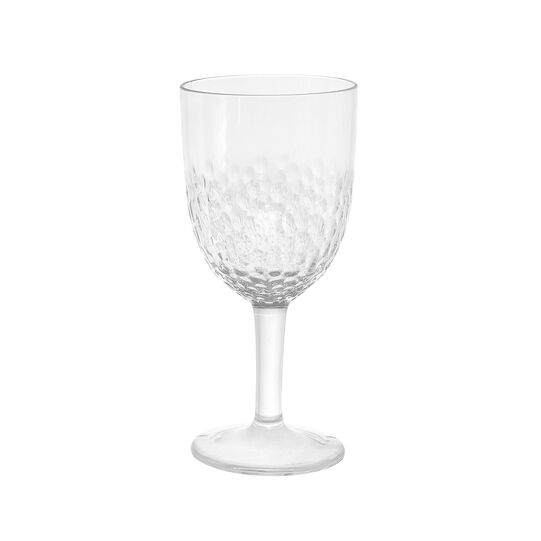 Calice vino plastica trasparente