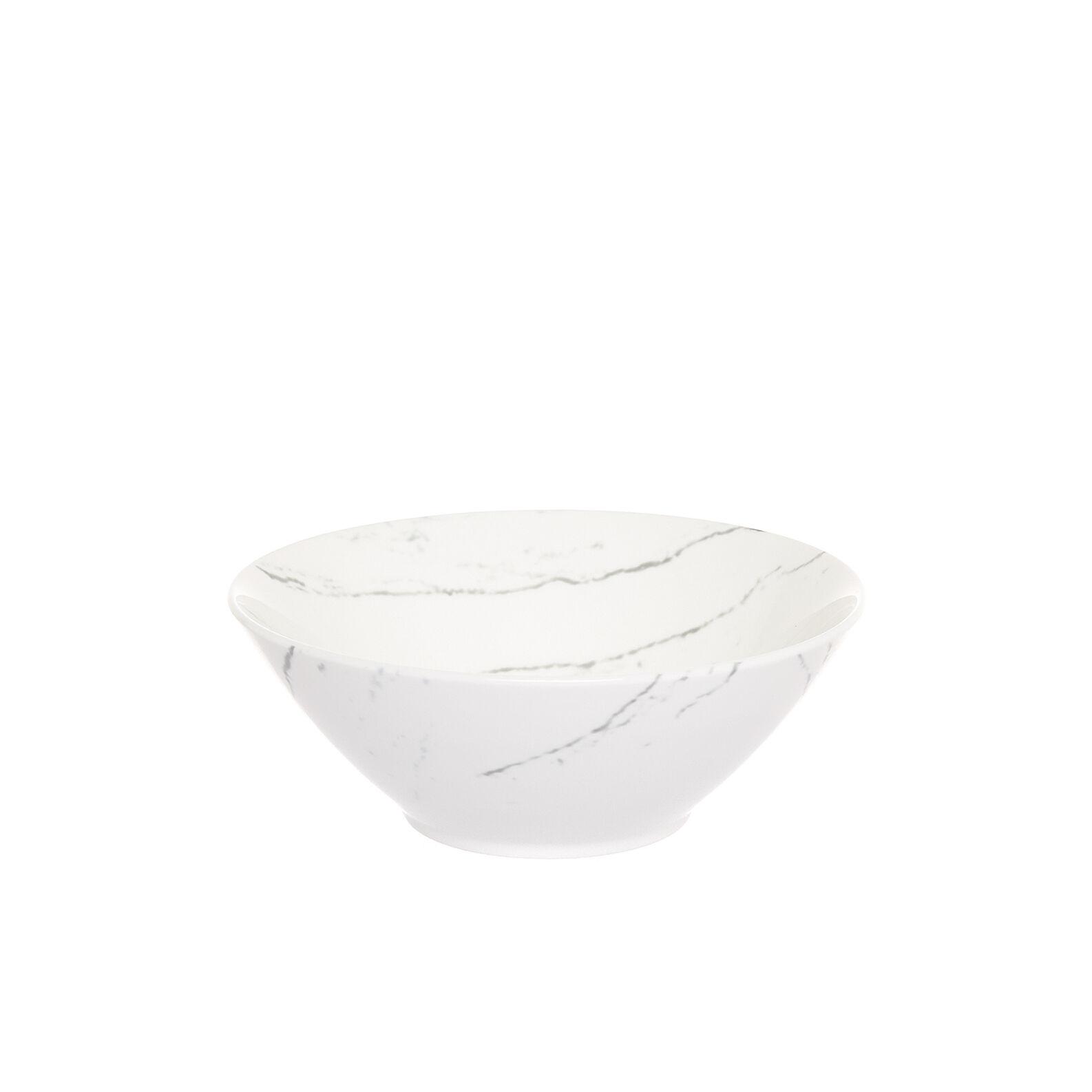 Coppetta porcellana effetto marmo