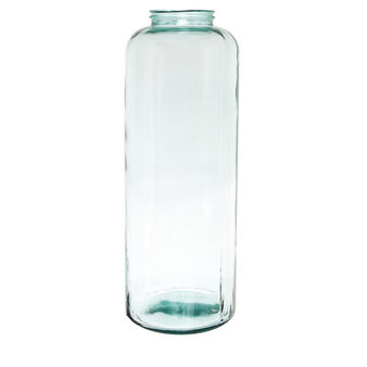 Maxi vase in recycled glass