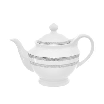 Teapot in New Bone China with decoration