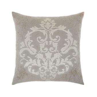 Cuscino goffrato motivo ornamentale 50x50cm