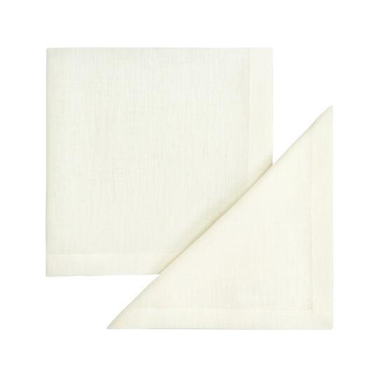 2-pack napkins in 100% linen