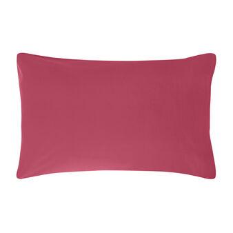 2 Pillowcases in plain percale cotton