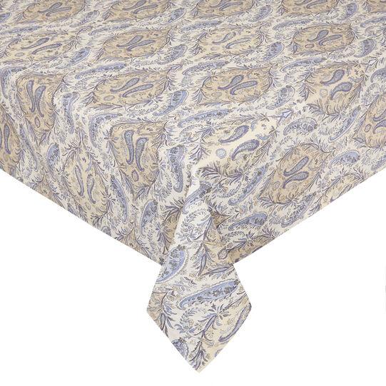 Tovaglia puro cotone stampa soft paisley
