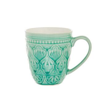 Noa decorated ceramic mug