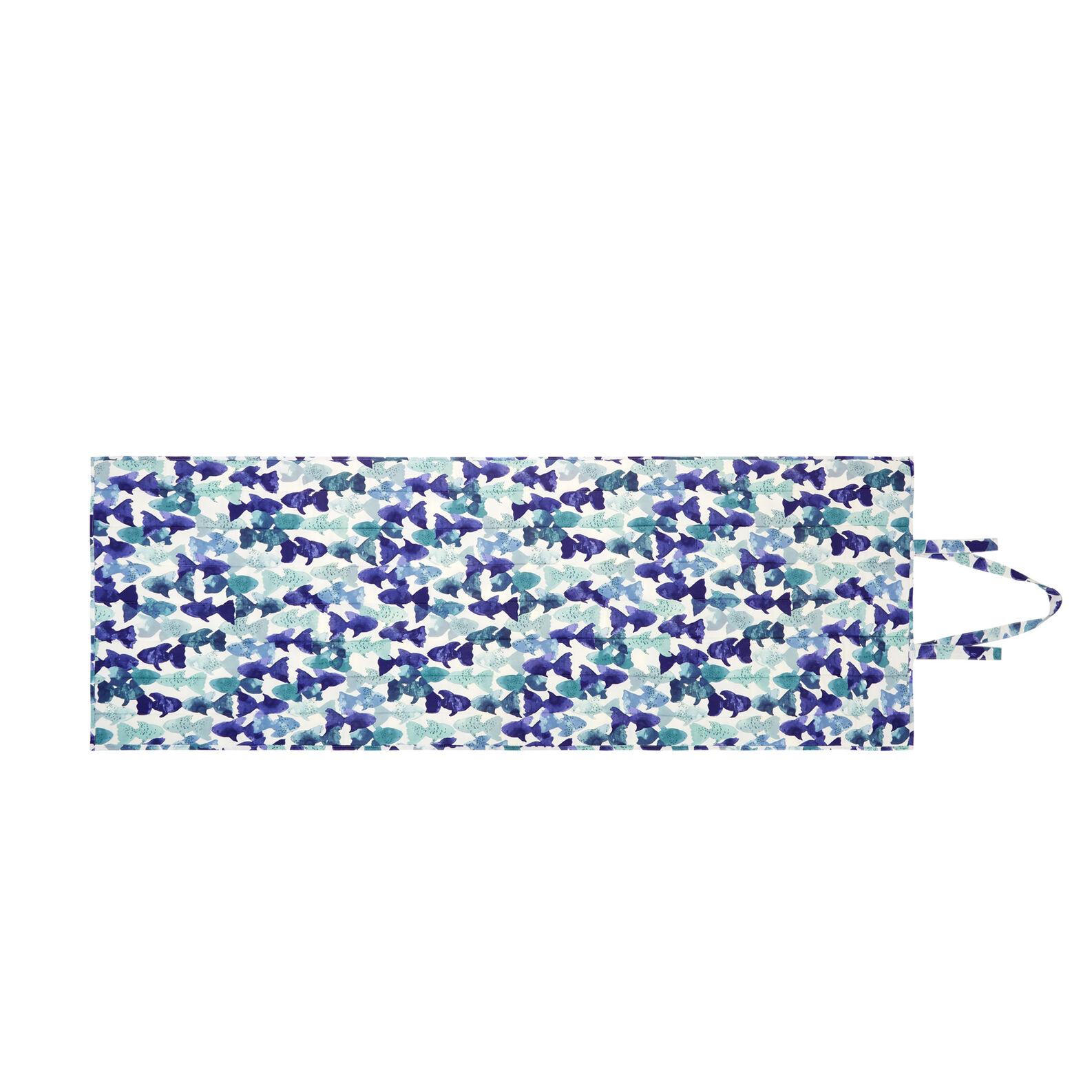 Mattress with fish print