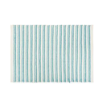 Tappeto bagno micro cotone a righe